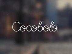 tie a tie calligraphy logo cocobolo