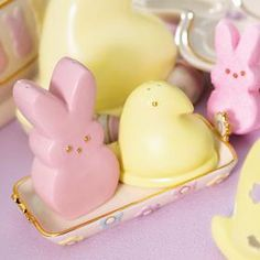 These remind me of my mom...she loved peeps for Easter