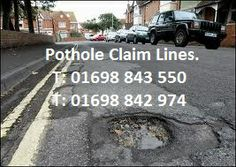 Assisting UK Motorists - Save Time & Money - Recovering Their Pothole Repair Costs. Part Of eClaims UK - Claims Processing & Handling Specialists - Operating UK Wide. http://www.potholeclaimshelp.com/