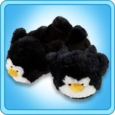 Penguin Slippers<333 penguins are my fav. Want want want