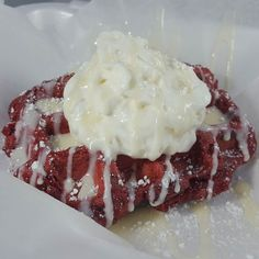 """As some of you may know. I've been looking for a location to open my Burger Stand """"Telly's"""". But until then I have cut the menu in half and decided to take orders for PICK UP ONLY in the south bay starting next week. Just to give you guys a preview of what's to come.... This is one of the dessert Liege Belgian Waffles that will be on the sweets menu... #STAYTUNED #foodiefluency #Tellys #waffles #foodporn #foodie #chefsofinstagram #cheflife #catering #cateringlife #dessert #LosAngeles…"""