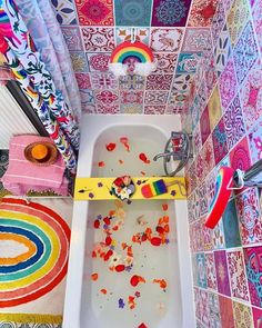 Bring me all the rainbow things! The more colours the better! Rainbow House, Rainbow Room, Deco Nature, Deco Originale, Barbie Dream House, Aesthetic Room Decor, Dream Rooms, Cool Rooms, My New Room