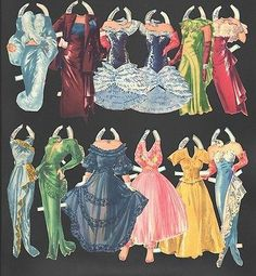 Pert and Pretty Paper Dolls Original Set from 1948 | eBay
