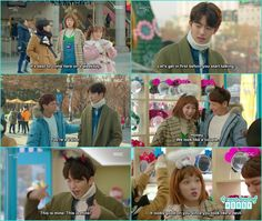 as joon hyung got the bucket list he ask bok joo to visit amusement park she was happy and dragged her friends - Weightlifting Fairy Kim Bok Joo: Episode 12 Weightlifting Fairy Kim Bok Joo Funny, Weightlifting Fairy Kim Bok Joo Wallpapers, Weightlifting Kim Bok Joo, Weighlifting Fairy Kim Bok Joo, Nam Joo Hyuk Lee Sung Kyung, Joon Hyung, Kim Book, Korean Drama Quotes, Drama Funny