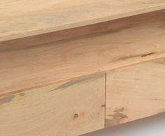 Szafka RTV drewniana SoHo loft industrialna - unodesign - Meble RTV