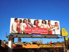 The Best Man Holiday movie billboard