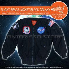 ANTARIKSA STORE ONLINE SHOPPING ---------------------------------------------------- FLIGHT SPACE JACKET NASA (IDR: 245.000 SUDAH TERMASUK 4 BADGE NASA ) ---------------------------------------------------- Made From ANTARIKSA STORE  -----SPESIFIKASI FLIGHT SPACE JACKET NASA EDITION----- *LAPISAN JAKET BERBAHAN PARASUT *MEMILIKI LAPISAN DALAM YANG TEBAL *ANTI AIR DAN ANGIN SAAT DIGUNAKAN *TERSEDIA 2 PILIHAN WARNA *WARNA JAKET TIDAK MUDAH PUDAR *MENGGUNAKAN BAHAN BERKUALITAS *MEMILIKI 4…