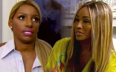NeNe Leakes and Cynthia Bailey are back to being good friends in real life, but the lowest points of their relationship are now playing out on TV. In a preview for the upcoming episode of Real Hous...
