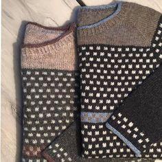Model Theresa er strikket i tynd uld på pind nr. 3.Blusen, der har let A-facon, er strikken oppefra og ned.Dermed er der mulighed for at tilpasse blusens længde