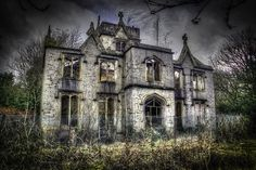 Allsprings House Great Harwood \\\ Most recently known as The Polish House, Allsprings House was once owned by The Lomax Family. Now a perfect location for a Horror Movie you might think.