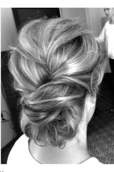 Hair DON'T: messy up do's end up looking more messy as the day goes on. Keep it sleek & simple!
