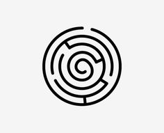 Labyrinth ~ I would love to rock this on my inner right wrist.