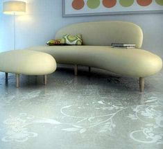 Detailed concrete: Polished concrete floor, detailed