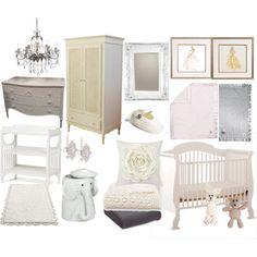 Perfect baby girl nursery!