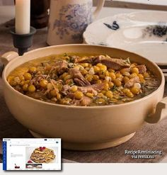 Norwegian Yellow Pea Soup with Pork Knuckle / Gul Ertesuppe med Svineknoke
