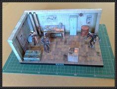 S.T.A.L.K.E.R. Diorama Free Papercraft Download