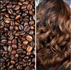Coffee Balaiagem: Coffe Hair - 30 Hair For You Copy .- Balaiagem Café: Coffe Hair – 30 Cabelos Para Você Copiar Coffee Balaiagem: Coffe Hair – 30 Hair For You Copy - White Blonde Hair, Brown Curly Hair, Colored Curly Hair, Brunette Hair, Highlights Curly Hair, Brown Hair With Highlights, Hair Color Balayage, Caramel Highlights, Fall Hair Colors