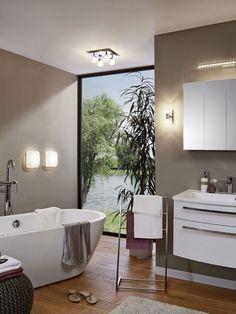 23 beste afbeeldingen van Verlichting badkamer - Bath room, Bathroom ...