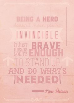 Piper McLean [ awesome quote ]