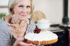 Mary Berry's Baked Alaska, saw it yesterday on Britain's Food Revival..retro yummy