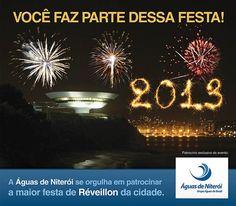 Anúncio de Réveillon 2012/2013