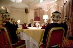 creepy puppets...