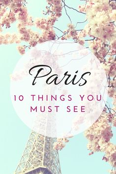 Ten Things You Must See In Paris (And I can vouch for 8/10 of these!)