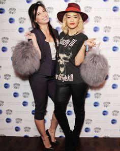 Rita Ora with the Charlotte Simone Bon-Bon!