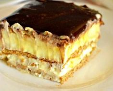 15 minut i gotowe. Food Cakes, Sweets Recipes, Cake Recipes, Biscuits Graham, Polish Desserts, Romanian Desserts, Delicious Deserts, Dessert Bread, Sweet Tarts