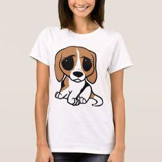 #bassett hound cartoon T-Shirt - #Petgifts #Pet #Gifts #giftideas #giftidea #petlovers