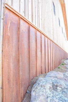 Weathering Steel Briggs Steel Armorx Series Metal Siding Metal Siding Weathering Steel Rustic Metal