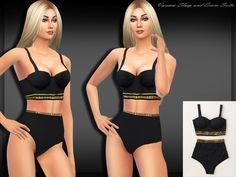 The Sims Resource: Swimwear Sleepwear by Saliwa • Sims 4 Downloads