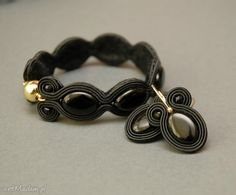 • Hand-Made bransoletki, biżuteria - bransoletka sutasz z onyksami