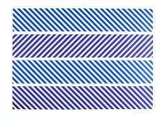 stripes = Bridget Riley 1973