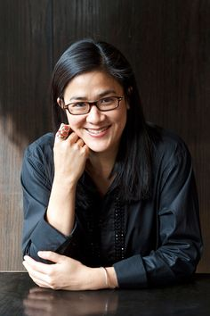 Kylie Kwong. Awesome chef from Australia. Lesbian? Yep, she is.