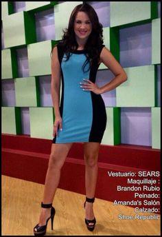 Look del día de @celidamagana by Sears, Brandon Rubio, Amandas Salon y Shoe Republic #AsíSomosOnline #ElSalvador #Moda #Belleza #Look #CélidaMagaña #RoxanaWebb