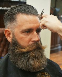 Save with our premium beard grooming kits and gift sets. Beard and Company offers the best all-natural beard and hair products, proudly made in Colorado. Long Beard Styles, Beard Styles For Men, Hair And Beard Styles, Beard And Mustache Styles, Beard No Mustache, Great Beards, Awesome Beards, Badass Beard, Sexy Beard