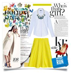 """""""Day to Night"""" by fashionscherry ❤ liked on Polyvore featuring Dot & Bo, Christian Louboutin and MANGO"""