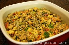 Homemade Holiday Cornbread Dressing | My Earth Garden