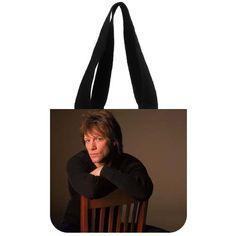 Encontrar Más Top bolsos de la manija Información acerca de Jon Bon Jovi bolso de mano ( 2 lados ) bolso de compras, alta calidad bolsa de la universidad, China shoping bolsa Proveedores, barato bolsas de crema de Satisfy Your DIY Style en Aliexpress.com