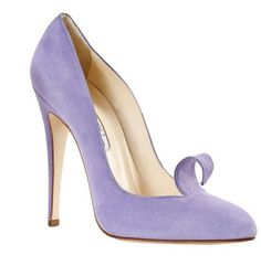 Brian Atwood - not the color but the shape and the twirly thingy
