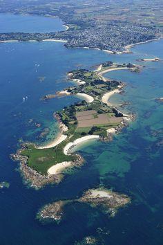 Callot Island Brittany france  Finistère Bretagne