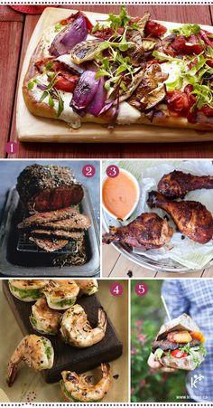 Quoi de mieux l'été que de cuisiner au BBQ. Facile, rapide et savoureuse, cette façon de cuisiner devient un art se cultivant tout au long de l'année. Sans plus tarder, nous vous proposons aujourd'hui quelques idées bien sympathiques. 1- Pizza végétarienne, pleine de saveurs et de couleurs. 2- Roast-beef à la moutarde, piquant mais pas [...]