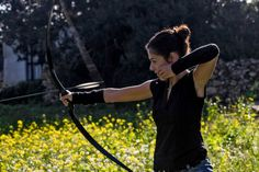 Instinctive Archery beauty Sandra Gea