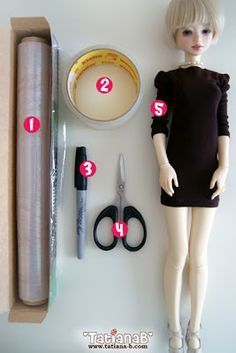 TatianaBStudio: ✿ Make patterns. Very detail tutorial on making a pattern for any ball joint doll.