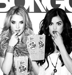 Ashely benson and Lucy hale