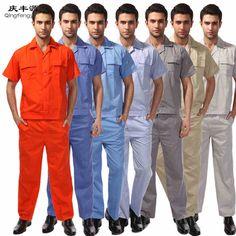 product image Uniform Clothes, Uniform Shop, Hotel Uniform, Mechanic Overalls, Work Coveralls, Work Uniforms, Photography Poses For Men, Long Pants, Long Tops