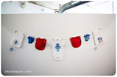 Robot themed baby shower! If I had one, I'd want it to be like this!