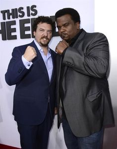 Danny McBride, Craig Robinson two of my favorite funny people Amazing People, Good People, Craig Robinson, Jay Baruchel, Danny Mcbride, Michael Cera, Paul Rudd, James Franco, Red Carpets