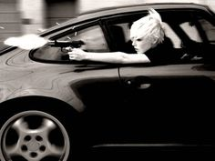 Things we miss in our neighborhood…fast cars, and fast women (with guns)…